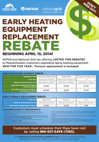 Mass Save Heating Rebates